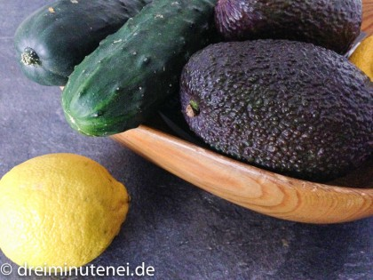 Avocado Gurke Zitrone