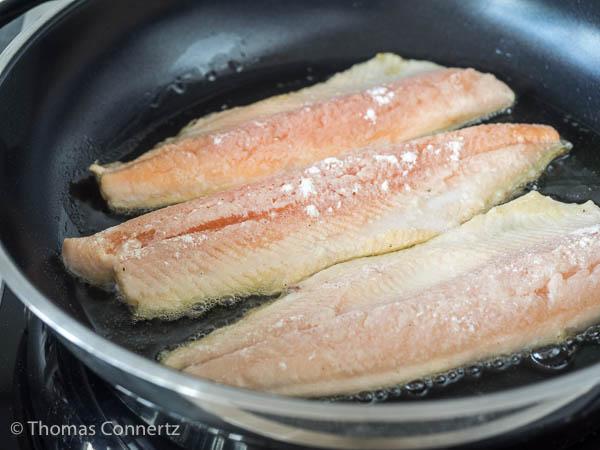 Fisch richtig braten