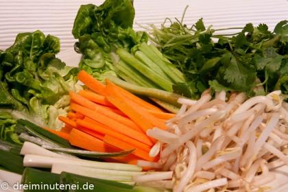 Gemüseinlage