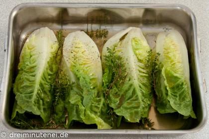 Geschmorter Salat