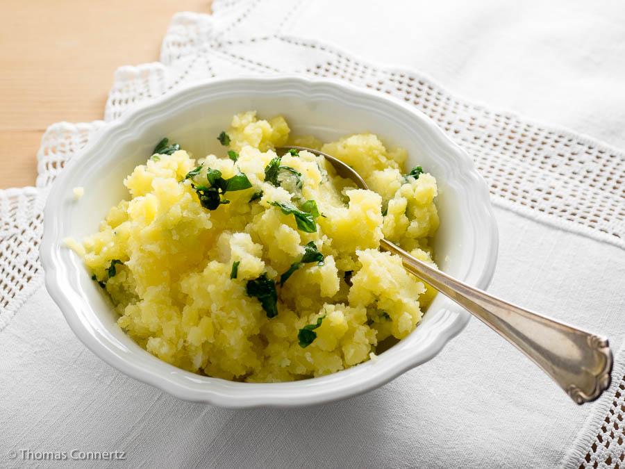 Kartoffelstampf mit Petersilie