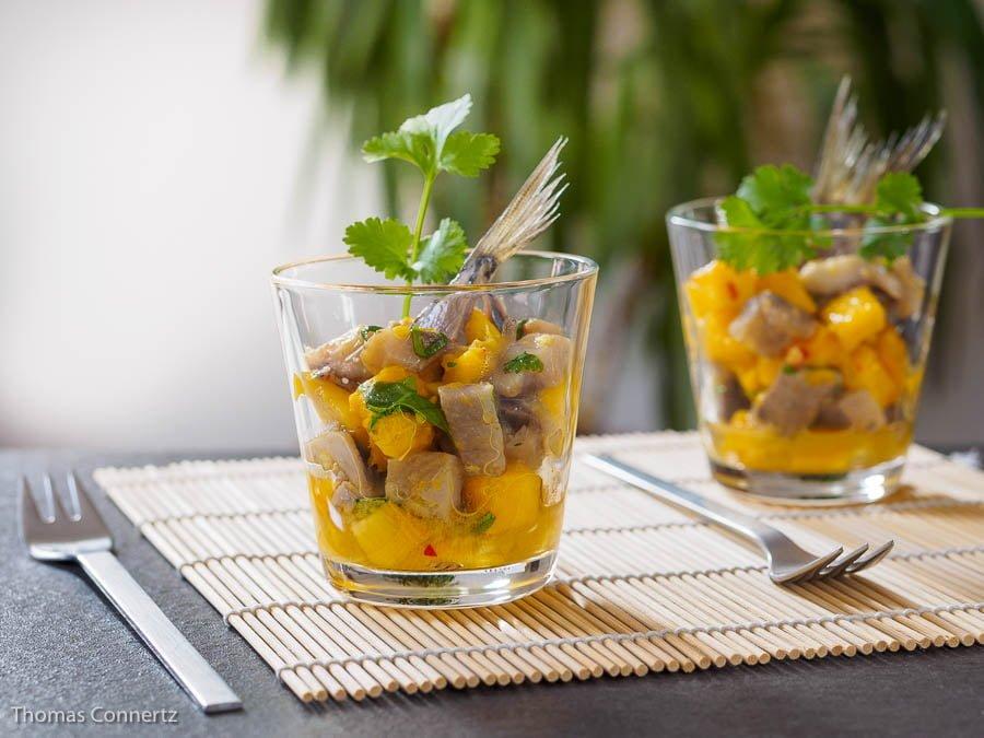 Matjes Mango Salat Koriander