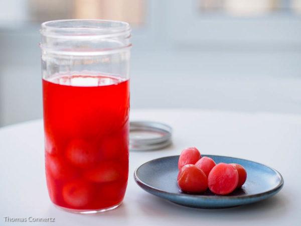 Radieschen fermentiert