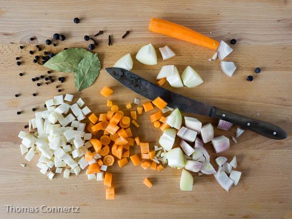 Schmorgemüse gewürfelt
