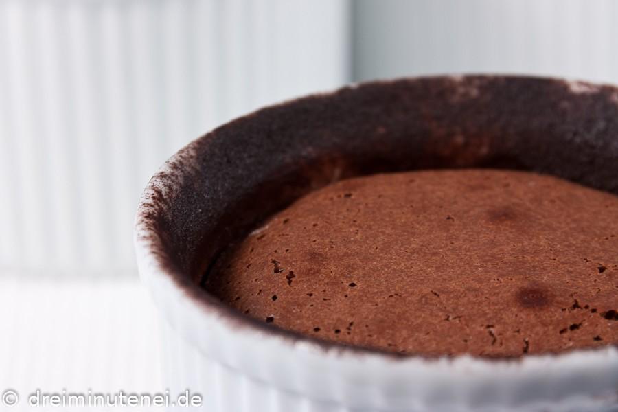Schokoladen-Soufflé