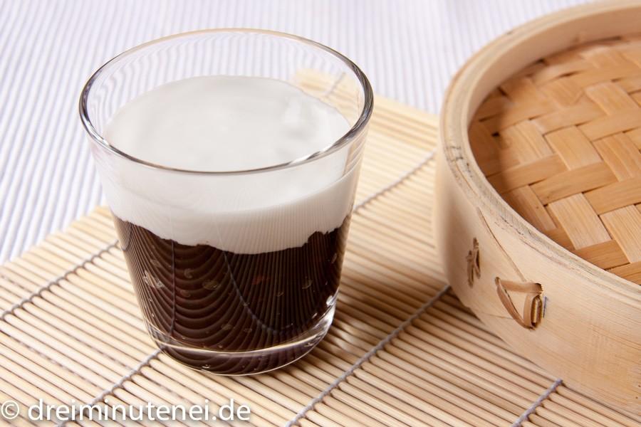 Schwarzer Klebreis mit Kokosmilch