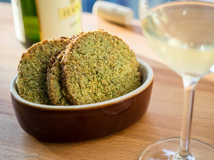 Parmesan-Polenta-Cracker